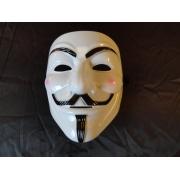 Máscara Blanca en V de Vendetta