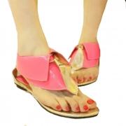 Collar lindo del estilo británico del color del caramelo de la correa de la sandalia