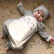 Mono Lindo Para Bebé con Capucha