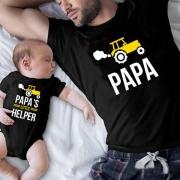 Blusa con Estampado para Padres e Hijos