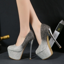 Sexy Bling Super High-heeled Shoes