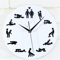 Chic Gadget 12 Posiciones 24 Horas Color De La Pared Reloj