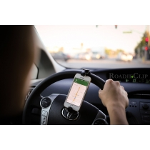 Manos libres universal Iphone / Smartphone Montar en el volante del coche de 4 colores (color al azar)