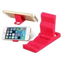 Mini soporte de plástico portátil para el iPhone 4 4s 5 5s 5c iPod Touch Samsung Galaxy s3 s4 Nota 2 3 (juego de 2, color al azar)