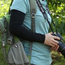 1 par de Sun Protección UV manga del brazo cubierta Deportes Golf