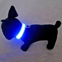 Collar Blauw seguridad intermitente Mascota - Mascota