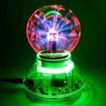 Bola de plasma Activado Esfera Night Lamp Lighting Luz