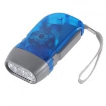 LED prensa de la mano sin batería viento hasta Crank acampar al aire libre
