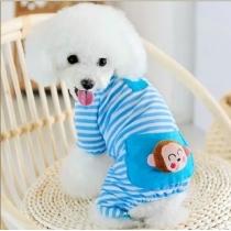 Adorable Cozy Dog pijamas para la camisa del perro ropa para perros Dog mono mono lindo ropa para mascotas
