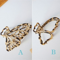 Sweet Style Hollow Out Butterfly Shaped Hairpin