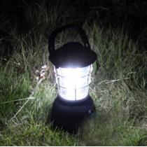 New Super Bright 3 Modos de manivela solar 36 LED Camp Cabañas y luz de la lámpara de la linterna