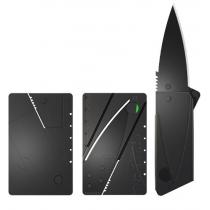 Cuchillo Plegable a Tarjeta de crédito (Negro Hoja)