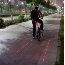 Mini Bell de la bicicleta LED Ping Anillo palanca de empuje Ciclo Bike
