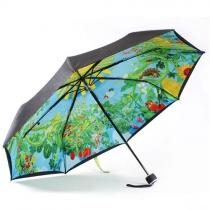 Paraguas Plegable de Estampado Totoro Lindo para Contar Lluvia o UV