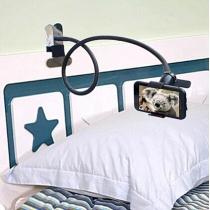 Sostenedor universal del teléfono móvil flexible largos brazos cama Escritorio soporte perezoso del soporte móvil de la ayuda todos los móviles Amplia menos de 90MM
