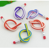 5x colores Magic Bendy flexible Lápiz Con El Borrador Soft For Kids Escritura caliente