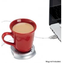 Laptop compinche Powered USB Warmer Bebidas con 4 puertos USB de cuatro puertos hub
