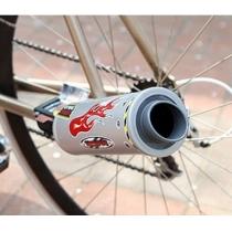 Sistema de escape de bicicletas