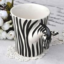 Moda Zebra Handmade Taza