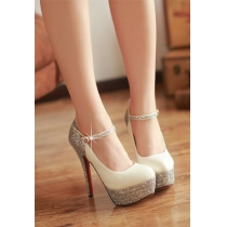 Elegantes Zapatos Sexy Paillette de tacón alto