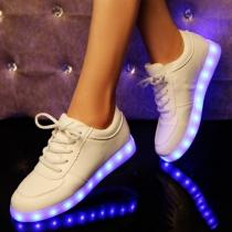 Zapatillas Deportivas con Luminoso Led Colorido  Recargable