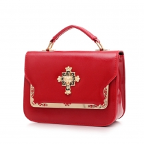 Fashion Candy Color Hangbag Cross Body Bag