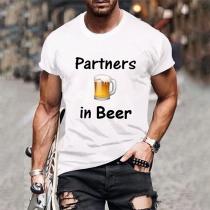Partners in Beer Bestie Shirt para Hombre