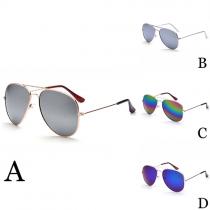 Retro Colorful Anti-UV Unisex Sunglasses