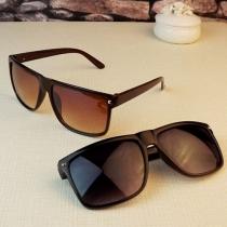 Gafas de Sol  Anti-UV Retro de Marco Cuadrado