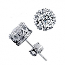 Fashion Imitation Rhinestone Stud Earrings