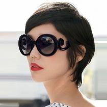 Gafas de Sol Anti-U con Redondo Marco