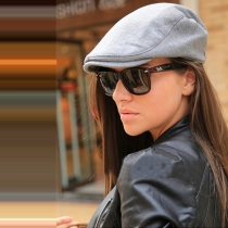 Fashion Solid Color Unisex Beret Duckbill Hat Hunting Cap