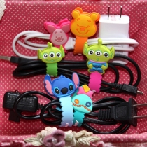 Cute Cartoon Animal Shaped Earphone Cable Winder