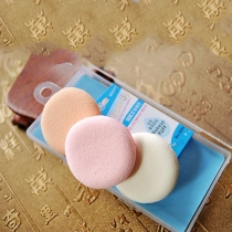 3PCS Sponge Cosmetic Puff Beauty Makeup Tools