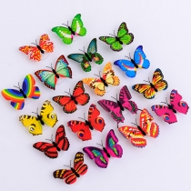 Creative Colorful Butterfly Can Be Pasted Night Light