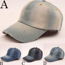 Sombrero Demin Retro Unisex