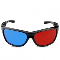 Fashion 3D Glasses for Dimensional Anaglyph Movie Game DVD