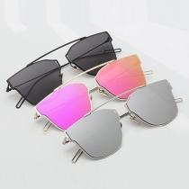 Fashion Retro Colorful Full Frame Sunglasses