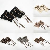 Bohemian Style Knitted Boot Socks Leg Warmers