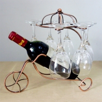Practical Metal Wine Cupholders Home Decoration