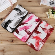 Fashion Graffiti Pattern Long Wallet for Women