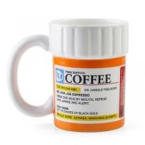 Taza de Cerámica de Café con Receta de Estilo Creativo