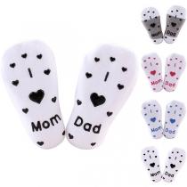 Pack de 2 Pares de Calcetines Antideslizantes con Estampado para Bebés
