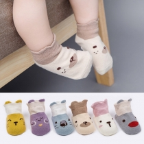 Pack de 2 Pares de Calcetines con Estampado para Bebés
