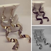 Fashion Spiral Shaped Earrings