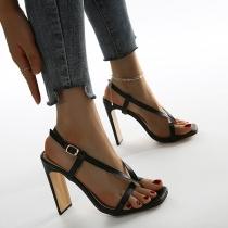 Sandalias de Tacón Alto de Moda