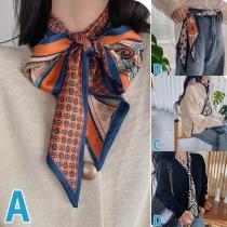 Bufanda multifuncional con Estampado de Moda