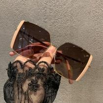 Gafas de Sol con Montura Irregular de Estilo Creativo