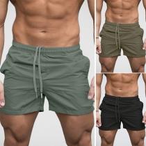 Pantalón de Playa de Caballero Talle Elástico con Cordones
