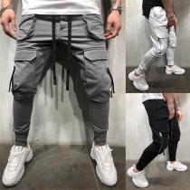 Pantalón Casual de Caballero con Bolisllos